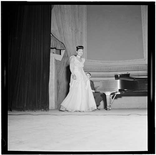 Billie Holiday au Carnegie Hall