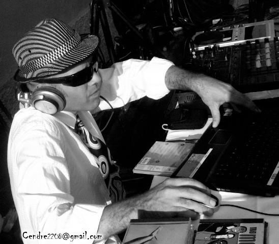 DJ Spider de Lyon aux platines
