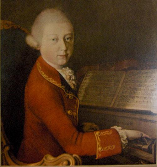 Mozart, sonate pour piano