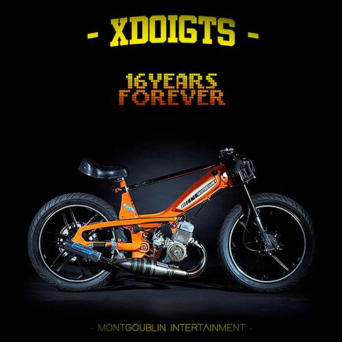 Pochette de X-Doigts compilation Hip-hop